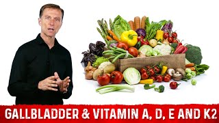 The Gallbladder & Vitamin A, D, E  and K2 Connection Part 3 Dr. Eric Berg DC