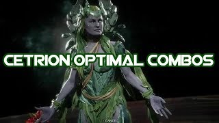 Cetrion : Spring Cleaning Combos: Mortal Kombat 11 ( Tournament Variation Post Patch )