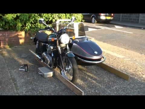 How to fit a sidecar to a motorcycle part 003