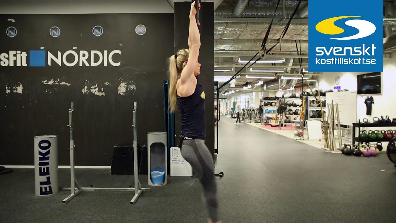 svenskt kosttillskott träningsprogram