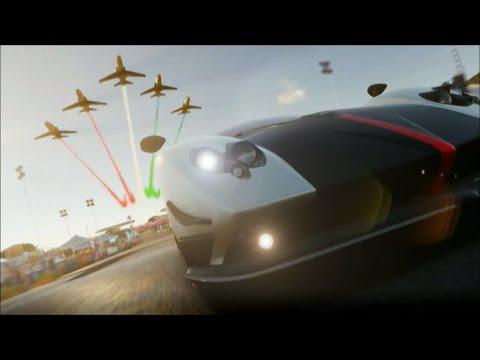 Forza Horizon 2: Start Menu Intro Video