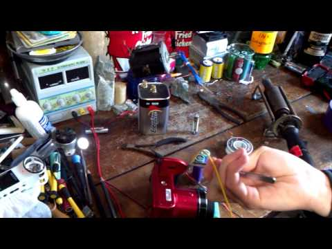 DIY Rechargeable Camera Battery Lithium-Ion 18650