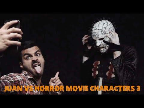 Juan vs Horror Movie Characters 3 | David Lopez