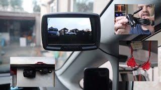 AUTO-VOX W2 Digital Wireless BACKUP REVERSE Camera - EASY Installation by a NOVICE