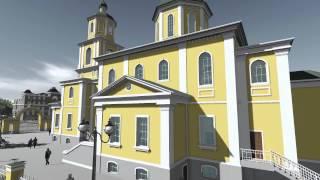 Свято-Никольский храм ст.Северская (Archicad 16 + Lumion 4)