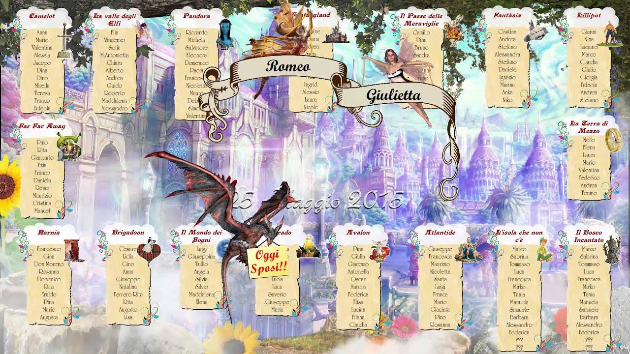 Matrimonio Tema Fantasy : Matrimonio tema signore degli anelli tableau