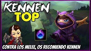 KENNEN TOP S8 | CONTRA MELEE...TOP CON RANGO | Build, Runas, Maestrias 8.14 Gameplay Español NO GUIA