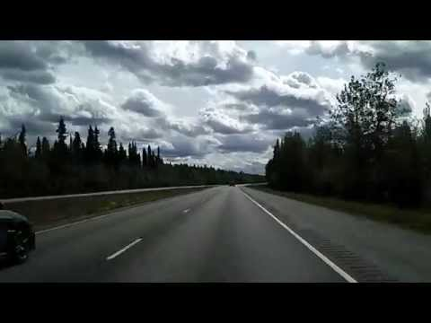 Alaska Route 2: Richardson Highway North Pole to Delta Junction (faster)