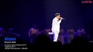 Afgan - Kunci Hati (Live at Java Jazz Festival 2017)