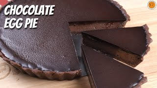 CHOCOLATE EGG PIE RECIPE | How to Make Chocolate Egg Pie | Mortar and Pastry