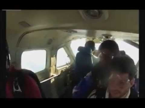 Fatal skydiving accident plane hits skydiver