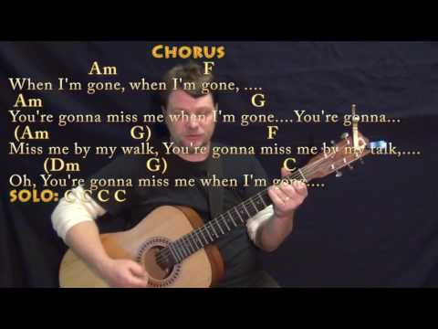 Cups (Pitch Perfect's When I'm Gone) Guitar Cover Lesson with Chords/Lyrics - Munson