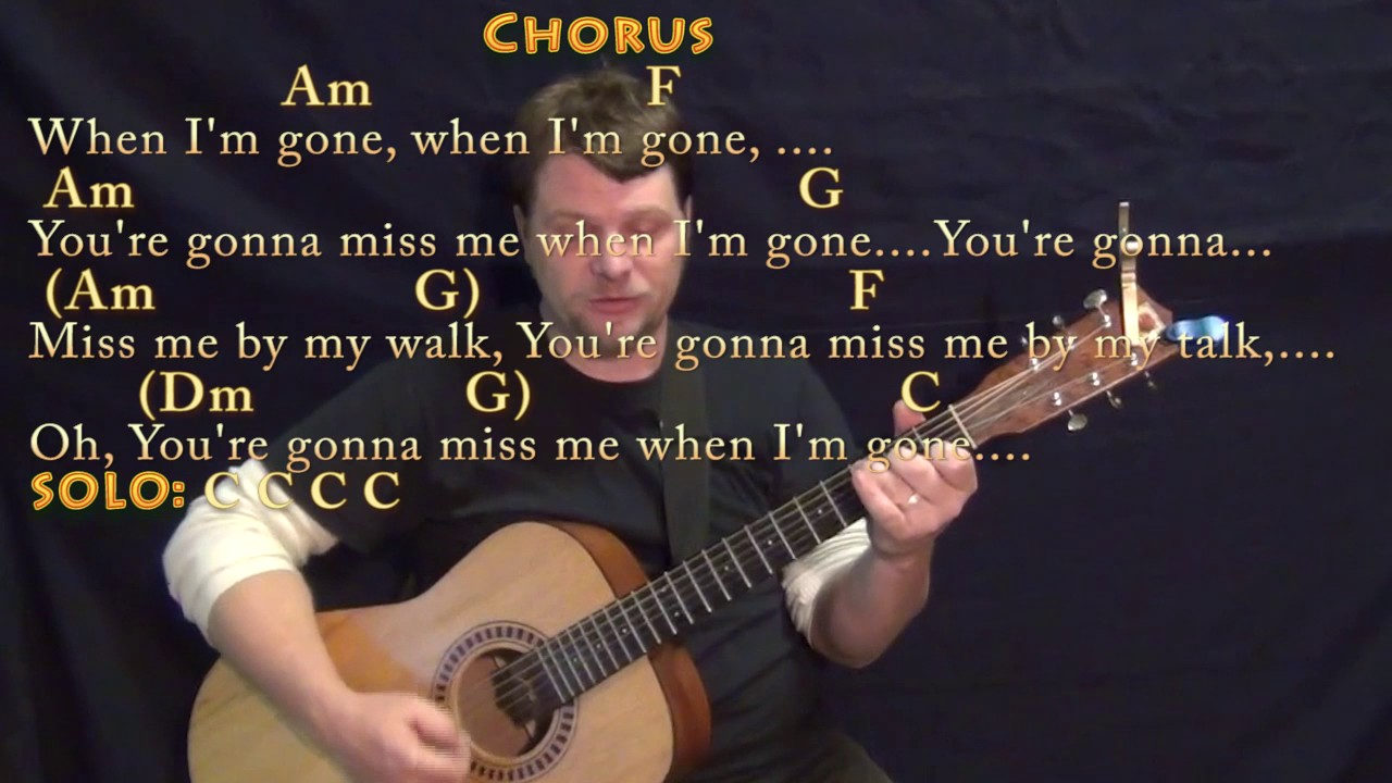 Cups Pitch Perfect's When I'm Gone Guitar Cover Lesson with Chords/Lyrics    Munson