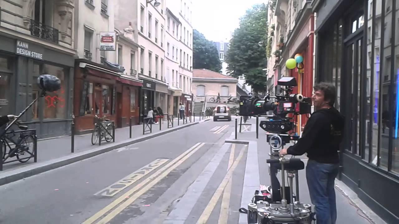 tournage de c 39 est compliqu premier film de manu payet rue des vinaigriers paris youtube. Black Bedroom Furniture Sets. Home Design Ideas