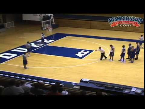 Open Practice: Offensive Skill Development featuring Mike Krzyzewski