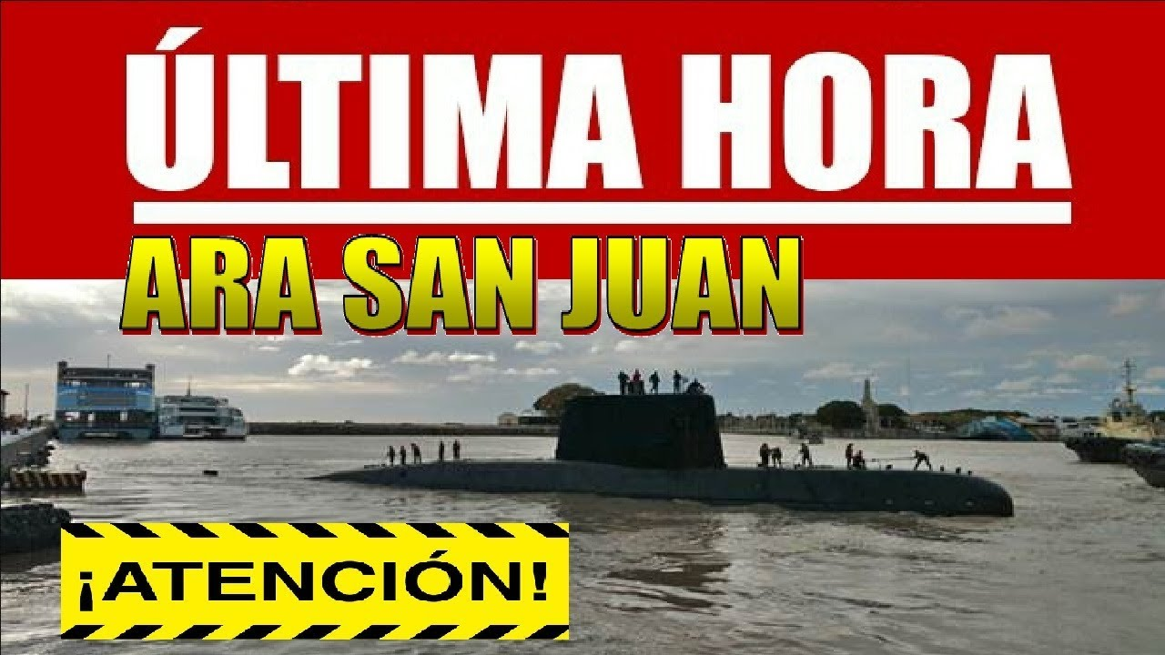 ultimas noticias del submarino ara san juan rescate