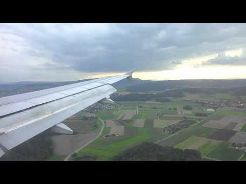 Flug Helsinki - Zürich (ILS16) A320 Finnair HD