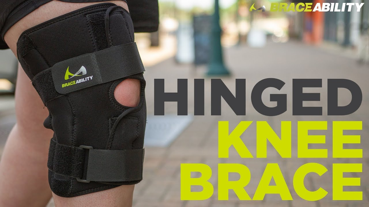 f81ef36e40 BraceAbility Bariatric Knee Brace with Hinges for Meniscus Tears and  Arthritis Joint Support