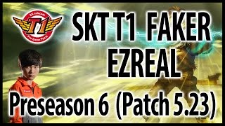 SKT Faker – Ezreal ADC vs. Tristana – Preseason 6, KR challenger ranked solo queue (2015.11.29)