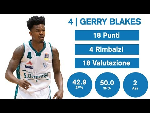 Gli Highlights Di Gerry Blakes Contro Pesaro