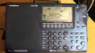 New York Radio 6604 Khz USB on Radio Shack DX 398