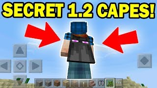 How to MAKE Secret CUSTOM CAPES in Minecraft Pocket Edition 1.2 Update