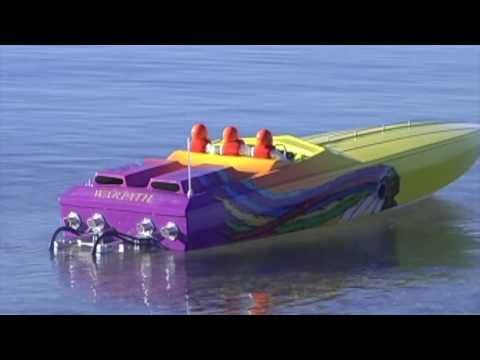 Apache Chief Offshore RC Powerboat