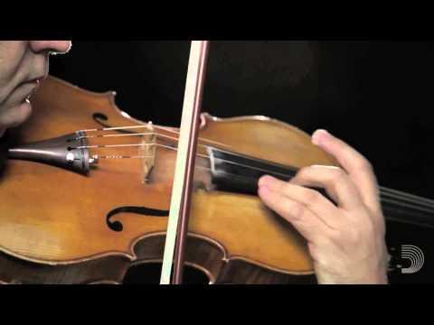 D'Addario: Pierre Henri Xuereb on Kaplan Forza Viola Strings