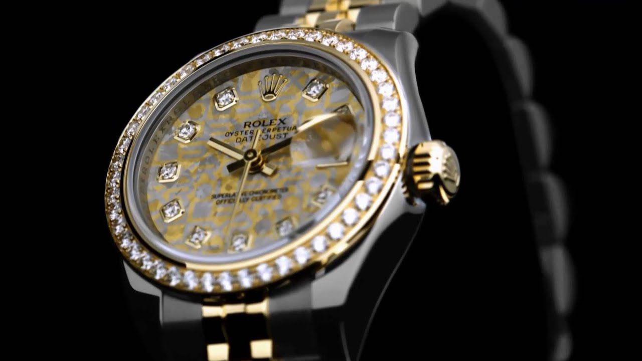 New ROLEX Lady - Datejust - Details [HD]
