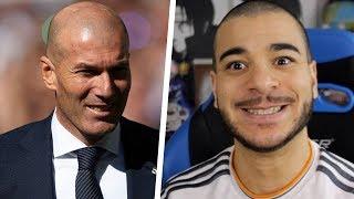 Premier match de Zizou 2019. (Real Madrid 2-0 Celta Vigo)