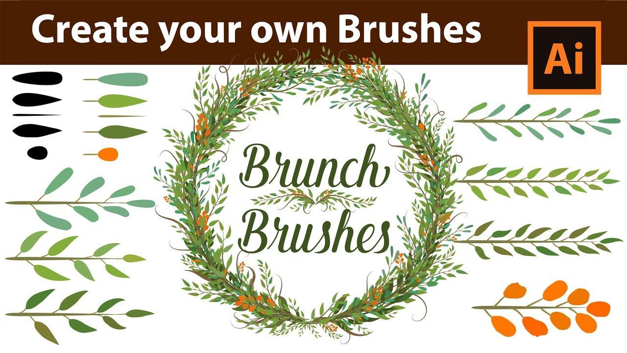 Christmas Branch Vector.How To Create Custom Branch Brushes In Adobe Illustrator