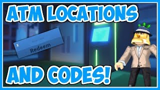 Codes And ATM Locations! | Jailbreak Winter Update - Roblox