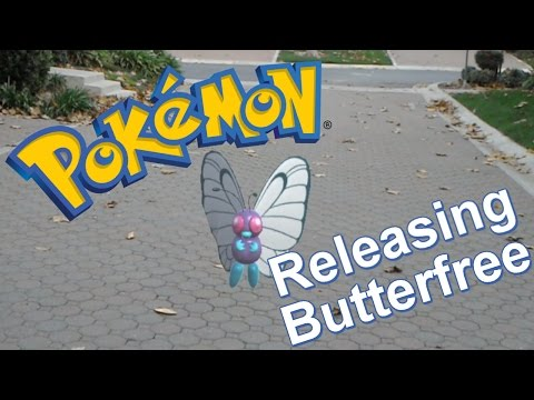 Pokemon in Real Life on HoloLens - Goodbye Butterfree