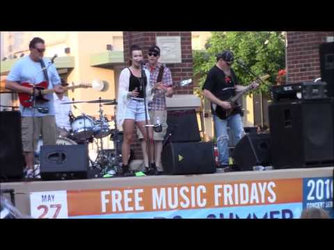 Abby Nicole and County Road at Shadow Lake Towne Center June 2016