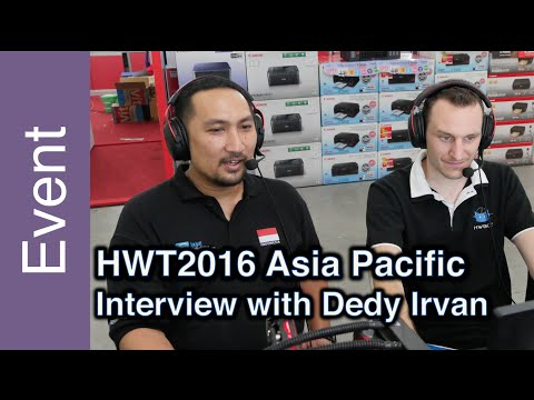 Behind the Scenes with Dedy Irvan (Jagat Review) - HWBOT World Tour 2016 - Asia Pacific