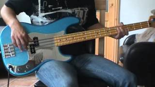 Iron Maiden - Strange World Bass cover