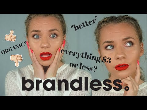 Organic BRANDLESS food Review /  Unboxing $3 & Less