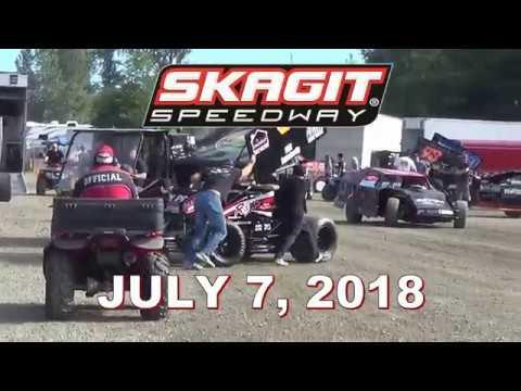 Skagit Speedway Highlights 07 07 2018