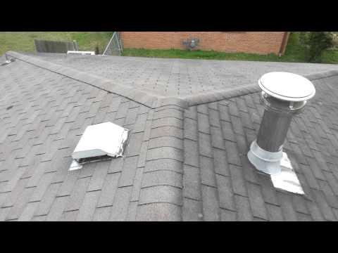 Metal roofing hip roof