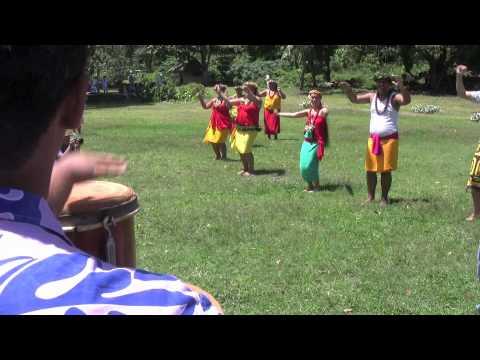 Dancers on Fatu Hiva, Marquesas Islands