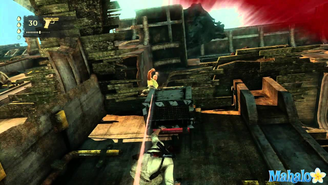 Uncharted 3 Walkthrough - Chapter 12: Abducted pt 3 - YouTube
