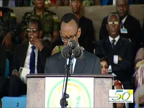 Rwanda celebrates 50th Anniversary of Independence and 18th Anniversary of Liberation- 1 July 2012
