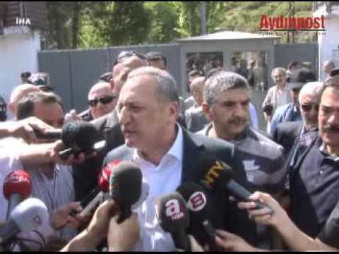Mehmet Ağar'ın Yenipazar Cezaevi'ne gelişi