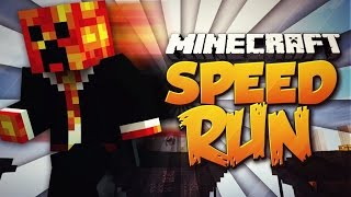 Minecraft OBSTACLE SPEED RUN! (Hurdles, Rainbows & More!) with THE PACK!