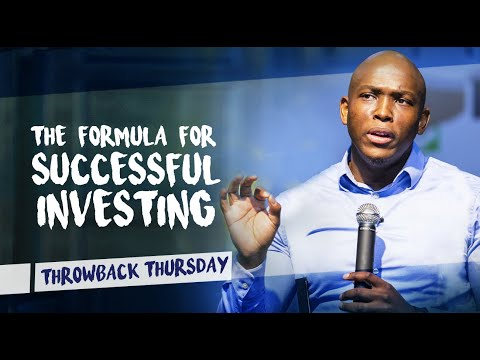 The formula for successful investing | Vusi Thembekwayo on Discovery Invest.