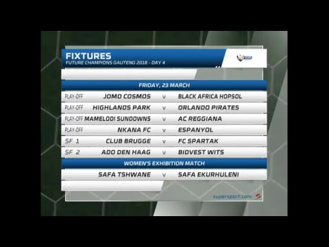 Gauteng Future Champions 2018 Day 3 - AC Reggiana vs Bidvest Wits