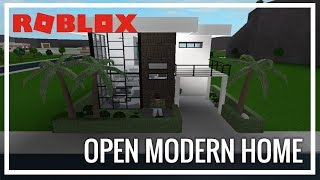 ROBLOX | Welcome To Bloxburg | Open Modern Home