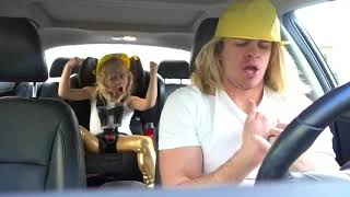 5 YEAR OLD DAUGHTER AND DADDY DO CUTEST CAROOL KARAOKE!!! (part 2)