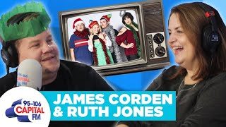 James Corden & Ruth Jones Spill 'Gavin & Stacey Christmas Special Secrets | FULL INTERVIEW | Capital