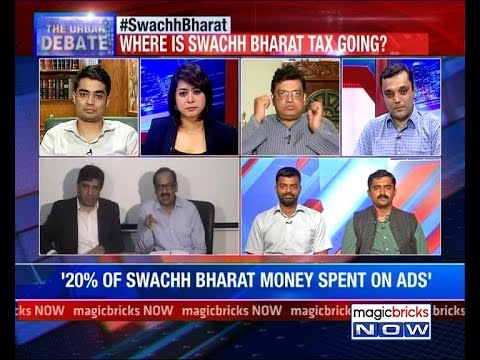 Where is Swachh Bharat tax going – The Urban Debate